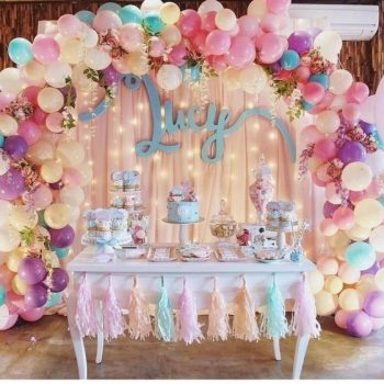 Paket Balon Dekorasi Sweet17th