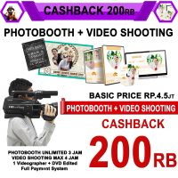 Cashback Photobooth + Video Shooting