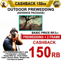 Cashback Prewedding Advance Outdoor