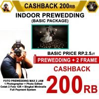 Cashback Prewedding Indoor